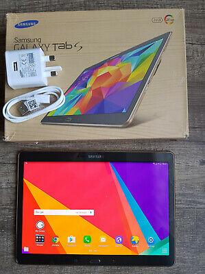Samsung Galaxy Tab S SM-T805 16GB Wi-Fi + 4G LTE Unlocked, 10.5in Android Tablet