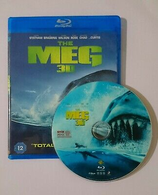 The Meg [3D Blu-ray Disk] **Region Free**