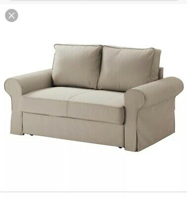 2 Two Seater Sofa Seat Bed Ikea Double