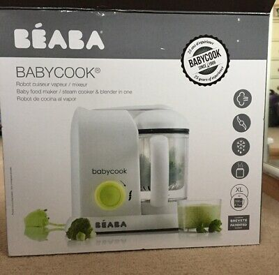 Beaba Babycook 4 In 1 Steamer, Cooker, Blender, Defroster - Baby Food Maker