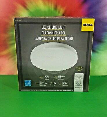super popular fab32 aedf7 KODA MOTION-ACTIVATED LED Ceiling Light with Remote Control ...