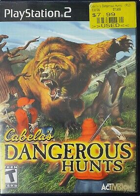PlayStation 2 Cabela's Dangerous Hunts Rated T Video Game Activision Teens