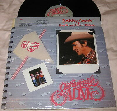 Bobby Smith & The Boys From Shilo - AUDIOGRAPH ALIVE - BLUEGRASS SHRINK NM