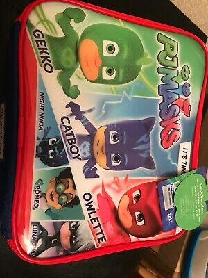 New Pj Masks Lunch Bag School Day Trips
