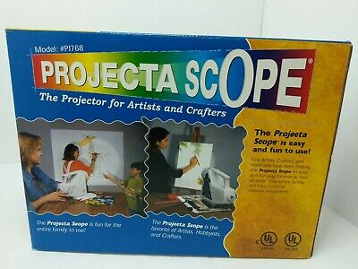 APCO Projecta Scope PJ768 Artist & Crafters Projector