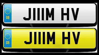 Jim, Jimmy, James private car plate registration BMW, Mercedes, Jaguar, Bentley