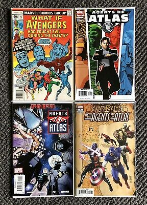 What If? #9 - Agents Of Atlas #1 - 2006 - 2009 - War Of The Realms New Agents #1