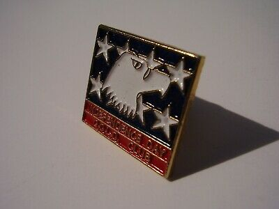 Novelty Pin Independence Day GOLD Club White Eagle and Stars