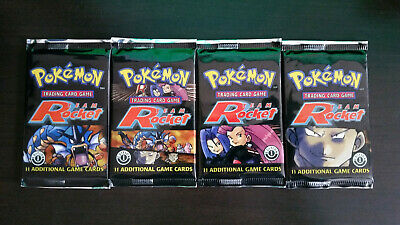 WOC Pokemon Team Rocket 1st EDITION Booster Pack NEW •• GIOVANNI ARTWORK ••