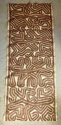 Tapa Cloth 172 cms x 72 cms Papua New Guinea Pacific Islands