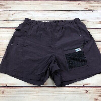 6b4febd0221 VINTAGE MCINTOSH SEYMOUR Mens Purple Nylon Rugby Short Large ...