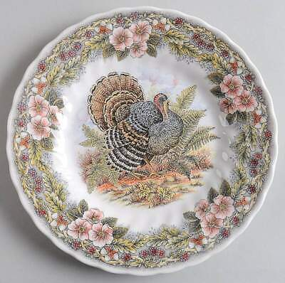 Thanksgiving Multicolor Dinner Plate 10 Inch (Made in England) by Churchill