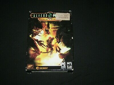 Aliens Versus Predator 2: Gold Edition [PC] (2003) w/ Box | Manuals | Case | Exp