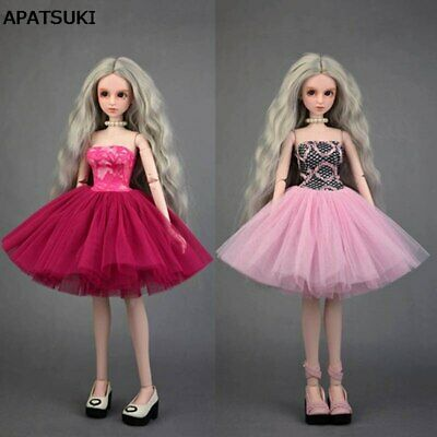 Fashion Doll Clothes Pretty Ballet Dress Wedding Dresses for 1/4 XINYI Doll Gown