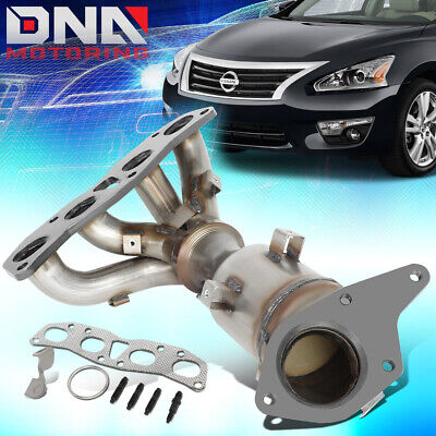 Exhaust Manifold with O2 Sensors Catalytic Converter Fits Nissan Altima 2.5L NEW