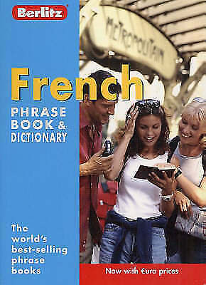 French Berlitz Phrase Book and Dictionary by Berlitz Publishing Company...