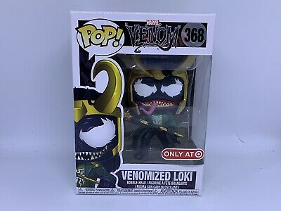 FUNKO POP #368 VENOMIZED LOKI MARVEL VENOM TARGET EXCLUSIVE w/Pro RARE