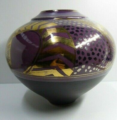 Bryan Trueman Australian Pottery Exhibition Vase Ceramic Studio Art