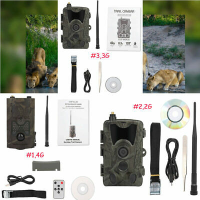 1080P HD 16MP Hunting Trail Camera Video Wildlife Scouting Infrared Night Vision