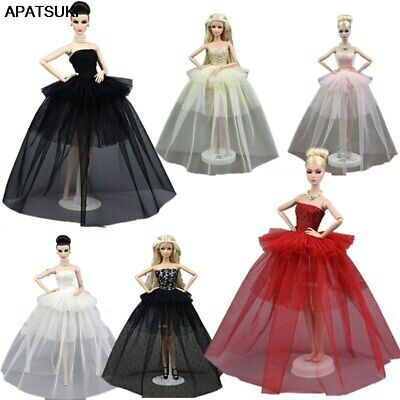Fashion Design Doll Clothes For 1/6 Doll Wedding Dress Party Gown Outfit Gift