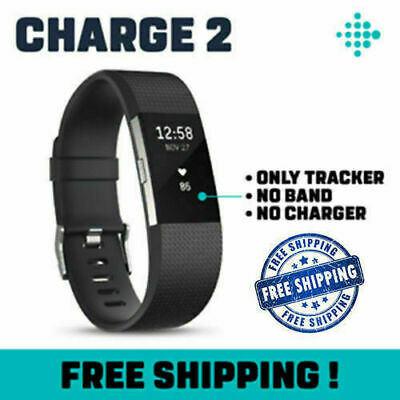 NEW Fitbit Charge 2 Fitness Tracker Heart Rate Monitor Pebble WITHOUT BAND