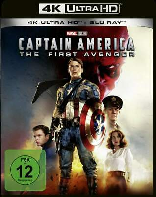 """CAPTAIN AMERICA - THE FIRST AVENGER"" - MARVEL Action - 4K ULTRA HD BLU RAY OVP"
