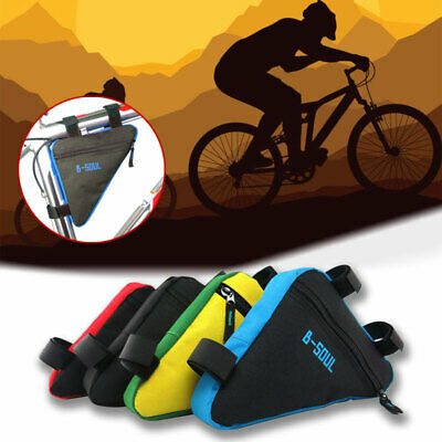 Triangular Bicycle Bike Front Tube Cycling Frame Bag Saddle Corner Storage Pouch