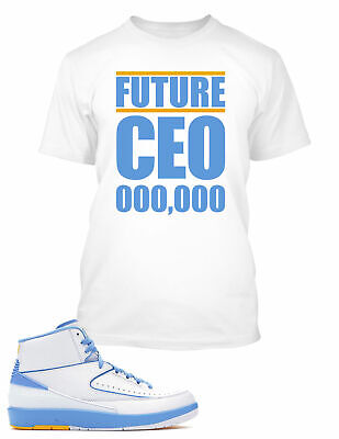 df61cd05add Future CEO Tee Shirt to Match Air Jordan 2 Melo Shoe Big and Tall Graphic  Tee