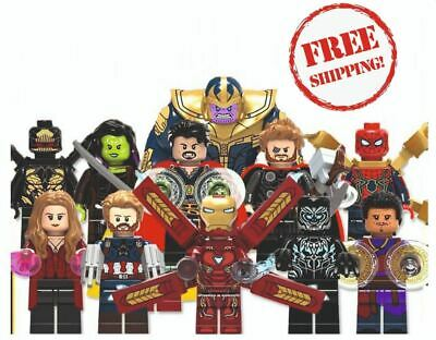 Lego Avengers Minifigures 300+ Marvel DC Endgame Deadpool Thanos Iron Man Thor