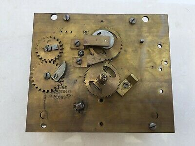 Gledhill Brook Fusee Clocking In Machine Clock Time Recorder Empire Movement