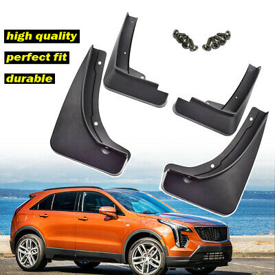 For Cadillac XT4 2018 2019 Front Rear Mud Flaps Splash guards Mudguards Fender