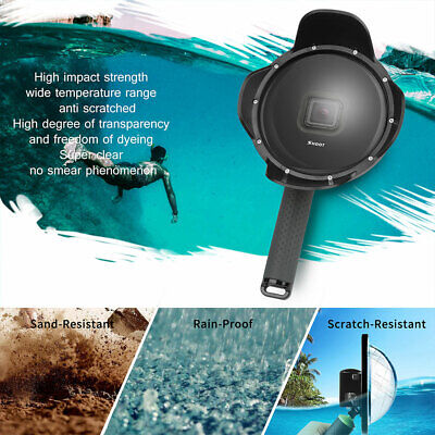 UK For GoPro Hero 7 6 5 Diving Dome Port Underwater Housing Lens Cover Accessory