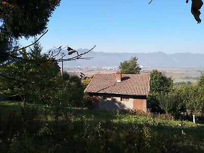 Large building Plot with Mountain Views in Bulgaria, Existing buildings on plot.