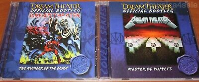 2CD set DREAM THEATER - The Number Of The Beast & Master Of Puppets
