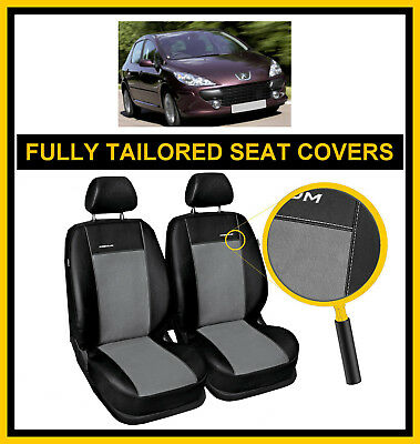 Outlet #55 Fully Tailored Seat Covers For Peugeot 307 2001 - 2008  Leatherette