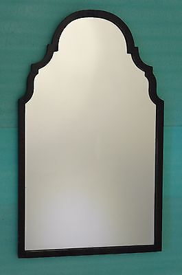 "REFLECTIVE TOUCH ANTIQUE-VICTORIAN-28""x17""5KG-GOTHIC ARCH-WOOD FRAME-MIRROR"