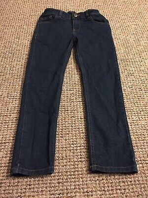 F&F Kids Dark Blue Jeans Age 7-8 Worn Once