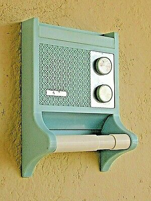 1970 Bathroom Radio Vintage For Museum Battery Operated