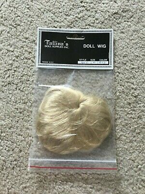 """Doll Wig Size 14/"""" Color Auburn Style 71BS Tallina/'s Ponytail Ringlets Sausage Cu"""