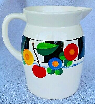 "Mary Engelbreit ""Cherries"" Pitcher, ME – Mary Engelbreit, Vintage Pre-1995 RARE"