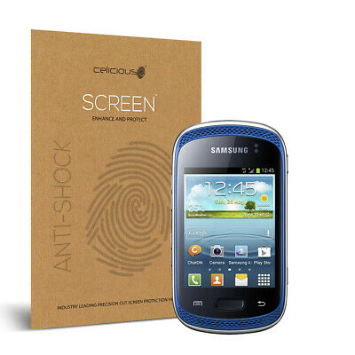 Celicious Impact Samsung Galaxy Music Anti-Shock Screen Protector
