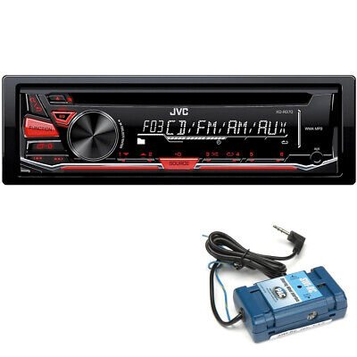 JVC KD-R370 CD with Steering Wheel Control Interface