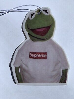 Supreme X Kermit car air freshener, Frog, Sneakers,  -  FREEPOST