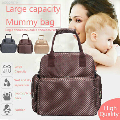 304A Oxford Mummy Diaper Bag Mummy Bag Nappy Bags Practical Baby Bags