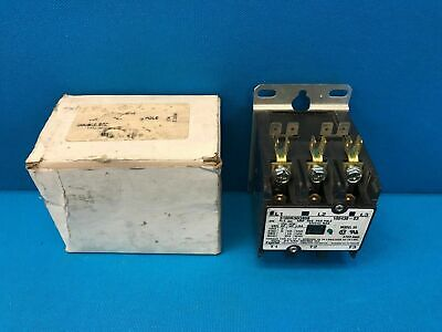 Tyco Electronics Contactor 3100R30Q808 24V Coil 25A 600V