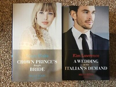 2x MILLS AND BOONS BOOKS (MODERN ROMANCE ~ MARCH 2019 (RRP £7.78) + FREE PP