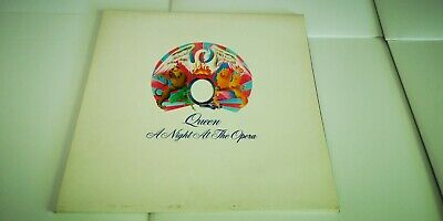 Queen - A Night At The Opera Cat No. EMI EMTC103 Repress Gatefold Vinyl LP Album