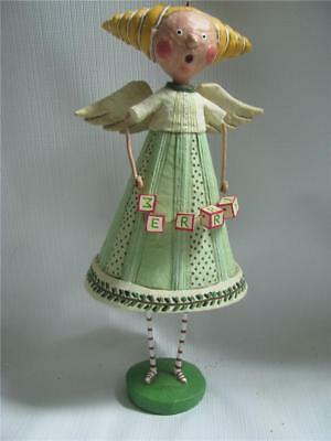 Lori Mitchell Angel Figure Merry Choir Xmas Esc Trading Large Folk Art