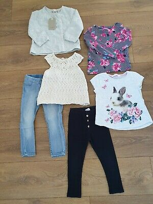 Girls clothing bundle age 2-3. Zara Next Joules H&M