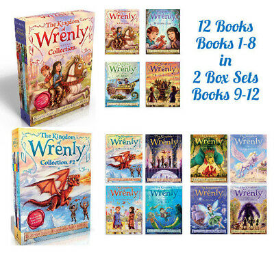 The Kingdom of Wrenly Complete Set by Jordan Quinn (2 Box Set+4 Titles)